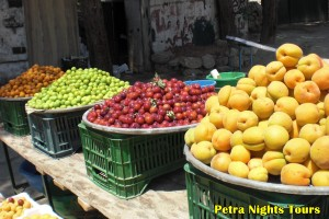 Fruits of Jerash Region