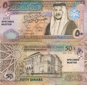 Jordan Currency Information   Petra Nights Tours