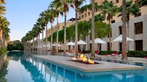 Kempinski Hotel Ishtar Dead Sea Sunken Pool - Day