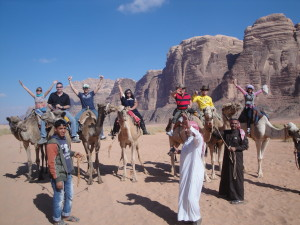 Camel Ride at Wadi Rum Jordan