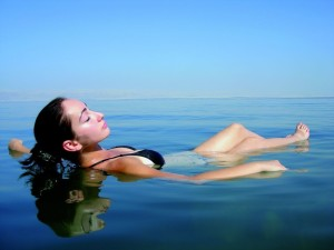 Floating Dead Sea