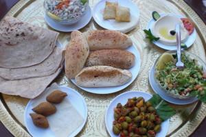 Healthy Jordanian Meal