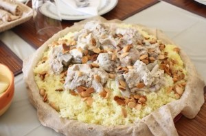 Try the national dish Mansaf