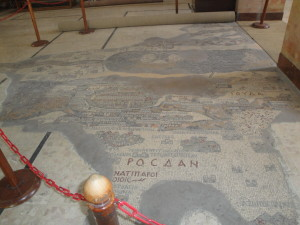 6th century mosaic map
