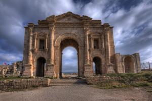 15-Arch-of-Hadrian-Jerash-Jordan