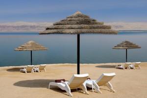 Dead Sea Beach - Jordan Valley Marriott Resort & Spa