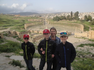 Family Tour in Jerash Jordan
