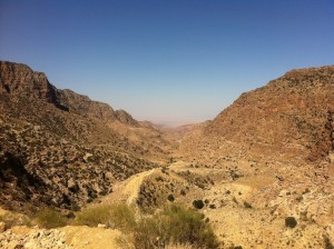 Hiking Dana to Feynan
